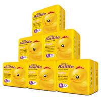 Bailile 百立乐 B08614J 超薄纯白纸尿裤  L22片*6包