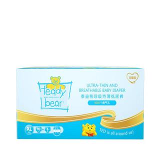 Teddy Bear 泰迪熊 呼吸特薄尿不湿超薄透气婴儿纸尿裤 彩箱装 DS105B01L-1