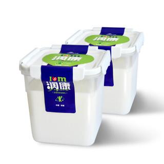 TERUN 天润 新鲜低温酸奶 1000g*2桶