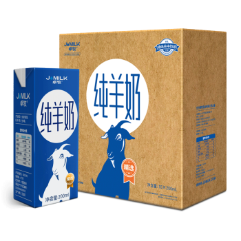 Jomilk 卓牧 10003022-010116 纯羊奶 200ml*16盒