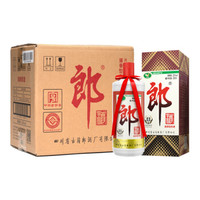 LANGJIU 郎酒 53度酱香型白酒 500mlX6瓶 整箱装