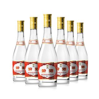 汾酒 53度 黄盖玻汾 475ml*6瓶 清香型自饮白酒