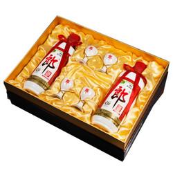 郎酒礼盒 郎牌郎酒精品礼盒 53度酱香型高度白酒 500ml*2 礼盒装