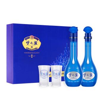 YANGHE 洋河 梦之蓝M3 52度500ML 2瓶装礼盒版白酒
