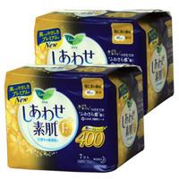 kao 花王 樂而雅日本進口f系列夜用衛生巾 400mm 7片 2包