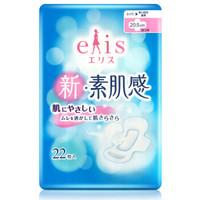 日本大王 新素肌感日用护翼卫生巾   20.5cm*22片