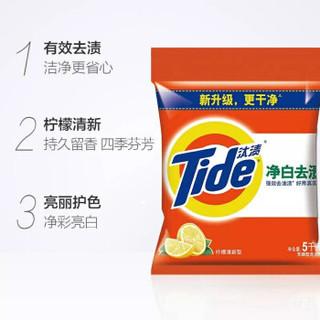Tide 汰渍 净白去渍洗衣粉 柠檬清新型 5kg
