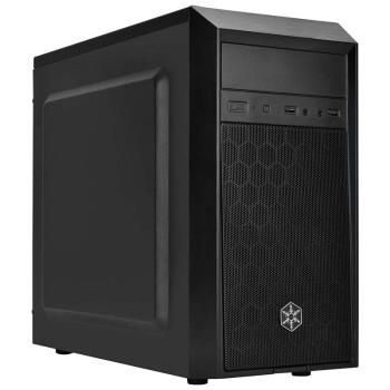 SILVER STONE 银欣 精准系列 PS16 台式机机箱 (黑色、M-ATX)