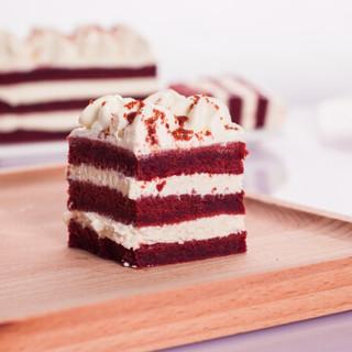 Best Cake 贝思客 白色红丝绒蛋糕 450g