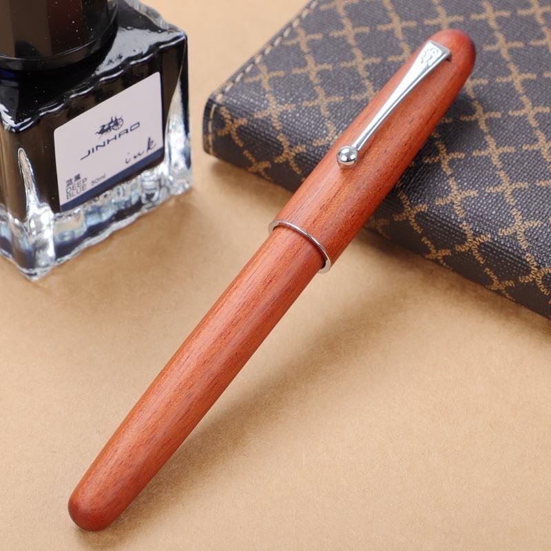 JINHAO 金豪 9035 木杆钢笔 0.7mm