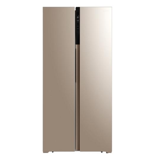 美的(Midea)450升双开门冰箱智能风冷无霜智能家电对开门冰箱BCD-450WKZM(E)
