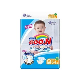 GOO.N 大王 维E系列 婴儿纸尿裤 M号 64片