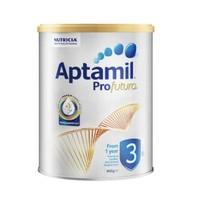 Aptamil 爱他美 白金版 MAX 婴幼儿奶粉 3段 900g *3件