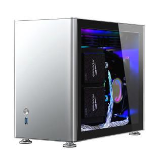JONSBO 乔思伯 A4 台式机机箱 (银色、Mini-ITX)