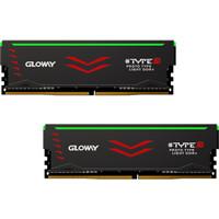 GLOWAY 光威 TYPE-β系列16GB台式机内存条套装 (黑色、8G*2、DDR4 3200MHz、1.35V、RGB、黑色)