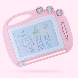 知识花园 儿童磁性画板 中号 粉色