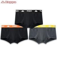 Kappa 卡帕 KP9K06 男士冰丝平角内裤 3条装