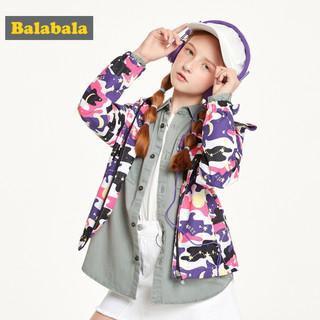 巴拉巴拉 童装 女童秋装外套