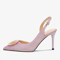 Luiza Barcelos 一字扣女士高跟鞋