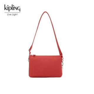 Kipling 凯浦林 K7232310R00F 女款斜挎单肩包 (冬季红、锦纶)