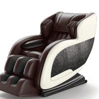 8D电动按摩椅家用全自动多功能全身沙发小型太空豪华舱老人新款器棕1698