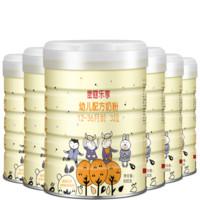 Moohko 麦蔻 乐享 三段1-3岁宝宝幼儿配方奶粉800g  乳铁蛋白丹麦原装原罐进口 6罐装 (3段、12-36个月、2kg以上)