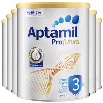 Aptamil 爱他美 白金系列 婴幼儿配方奶粉 3段 900g (12-36月)