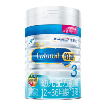 MeadJohnson Nutrition 美赞臣 普通配方奶粉 (3段、12-36个月、850g、801-1000g)