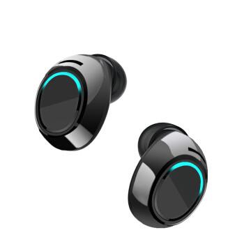 索爱(soaiy)T2 蓝牙耳机无线双耳超小迷你隐形运动跑步型耳塞超长待机5.0
