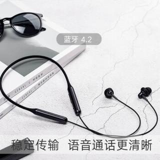 1more 万魔 颈挂脖式项圈蓝牙耳机无线    E1024BT (红色、通用)