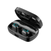 ZHYCP 智优创品 蓝牙耳机无线触控防水迷你超小运动隐形双耳塞 (黑色、通用、入耳式、IPX5)