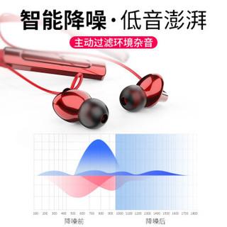 naiyu 奈语 蓝牙耳机无线运动入耳挂脖式  iu3