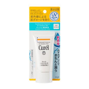 Curel 珂润 润浸保湿防晒凝蜜50g SPF28 PA+(花王 原装进口 干燥敏感肌适用)