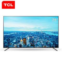 TCL 75V2 75英寸 4K超高清液晶電視