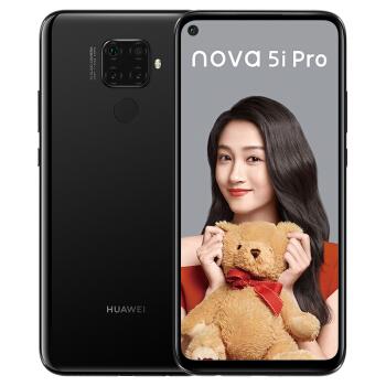 HUAWEI 华为 nova 5i Pro 智能手机 (8GB、128GB、全网通、幻夜黑)