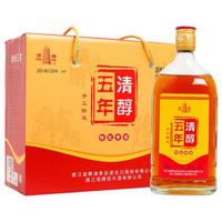 塔牌 清醇五年 手工冬酿糯米酒 500ml*6瓶装