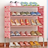 索尔诺 K125 简约现代多层鞋架 幸运樱桃