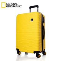 National Geographic 国家地理 超轻密码拉杆箱万向轮旅行箱行李箱登机箱 N078HA (银色、28寸)