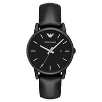 阿玛尼(Emporio Armani) 手表  酷感皮质表带休闲时尚  AR1973