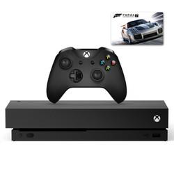 Microsoft 微软 Xbox One X 1TB 游戏主机《极限竞速7》套装