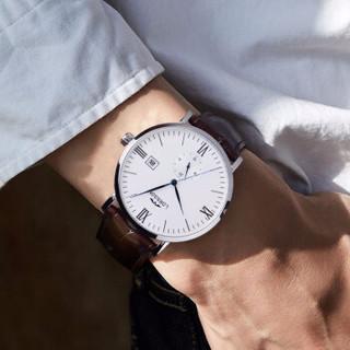 罗臣LORSSON男士手表 德国品牌腕表传承Smriti系列机械表 26钻自动机芯