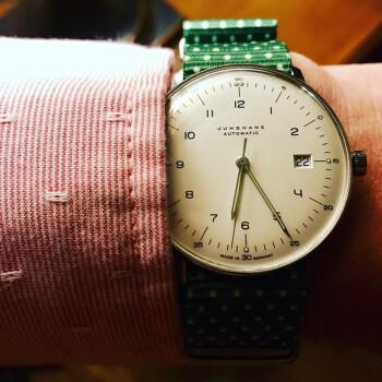 JUNGHANS max bill系列 027/4700.00 男士自动机械手表