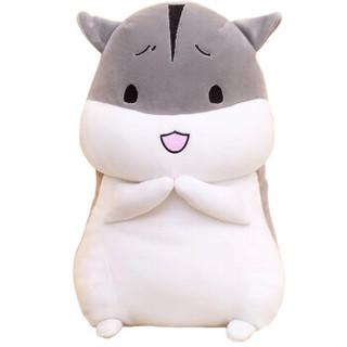 甜喵 毛绒玩具泰迪熊公仔 灰色 40cm TM002