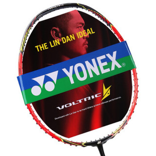 YONEX 尤尼克斯 羽毛球拍单拍2019新款林丹战拍进攻型全碳素羽拍VT-LD-F红色未穿线