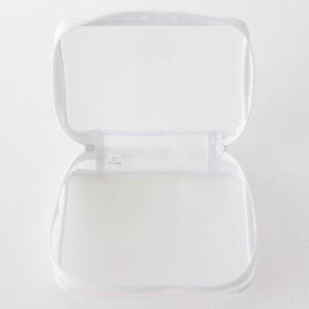 MUJI 无印良品 树脂 化妆包 开放型 F7S7025 原色