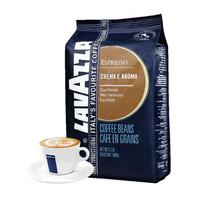 LAVAZZA 拉瓦萨 意大利原装进口咖啡豆 纯黑咖啡 意式香浓醇香型咖啡豆1000g