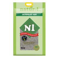 N1爱宠爱猫 豆腐猫砂17.5L 2.0级小颗粒 绿色