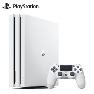 SONY 索尼 PS4 Pro 乐克乐克重制版 真三国无双7猛将传 双碟游戏套装 家庭娱乐游戏机(1TB、白色)