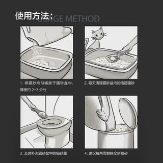 LORDE 里兜 豆腐猫砂6LX12袋囤货装非膨润土  白色