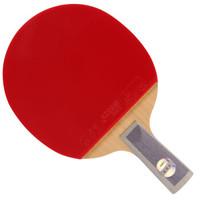 DHS 红双喜 乒乓球拍 直拍天极蓝双面反胶皮兵拍  TB6
